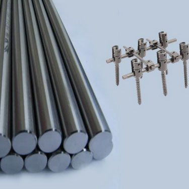 Titanium metal products because of their excellent performance is widely used in the medical industr
